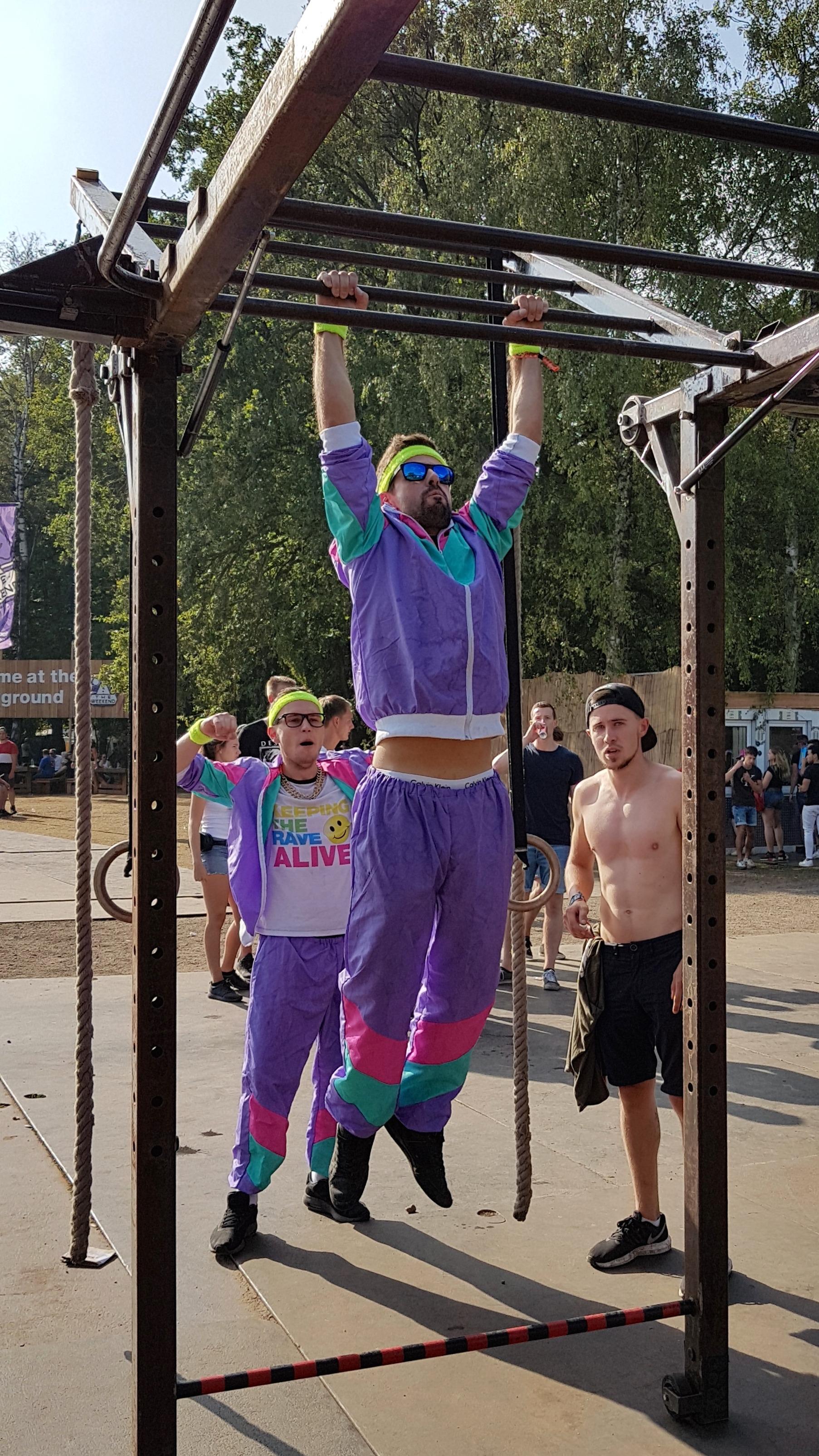FESTIVAL OUTDOOR GYM - DECIBEL 2018